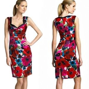 Nanette Lepore Gin Sling Floral Silk Dress